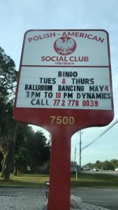 Bingo @ Polish American Social Club of Vero Beach