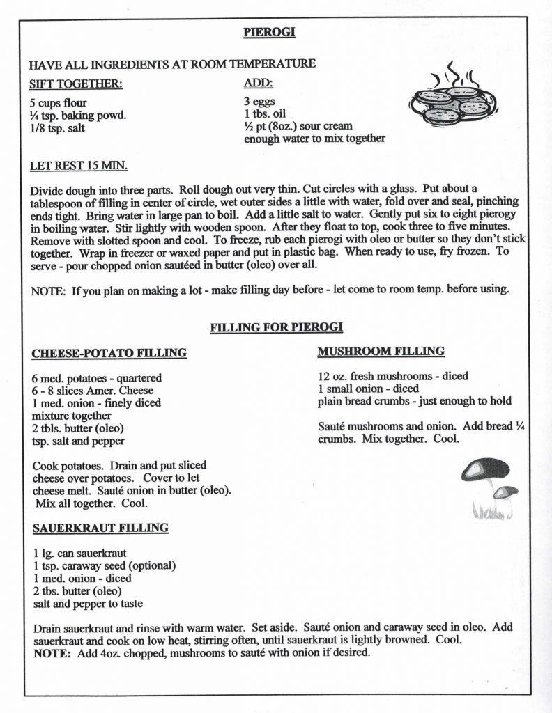 Polish Food Recipes – Polish American Social Club of Vero Beach