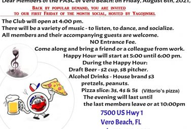 Join us Friday, August 6